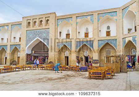 In Allakuli Khan Madrassah