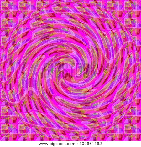Purple and pink pattern