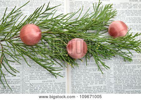 Isaiah 9, Christmas Background