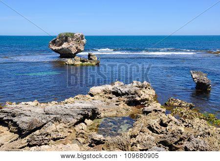 Giant Ocean Rock at Cape Peron, Western Australia