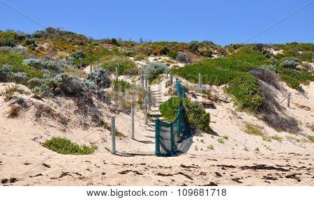 Beach Path in the Dunes: Cape Peron, Western Australia
