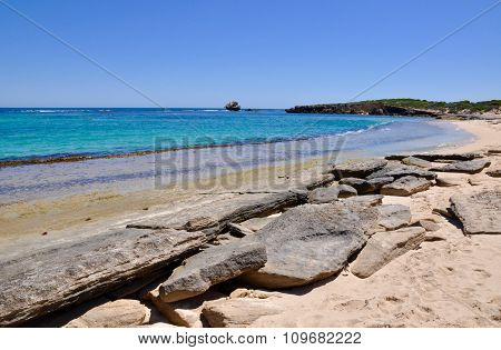 Cape Peron's Wave-cut Rocks, Western Australia