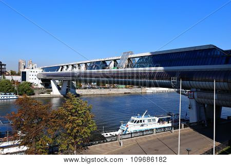 Bagration Bridge Over The Moscow River