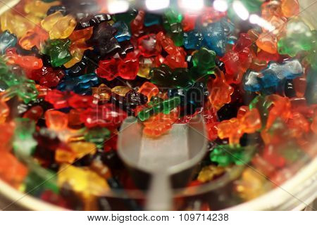 Colorful Gummy Jelly Bears