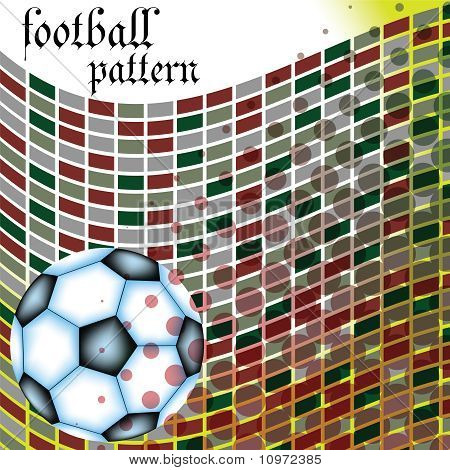 Football Abstract Pattern