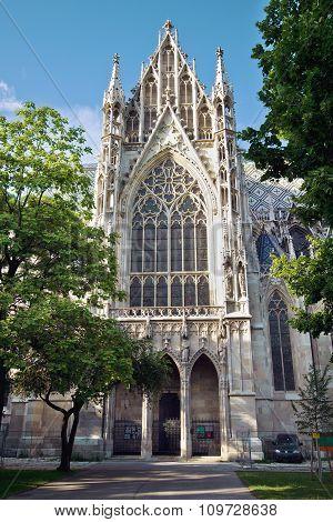Votivkirche (Vows church) by Heinrich von Ferstel in Vienna