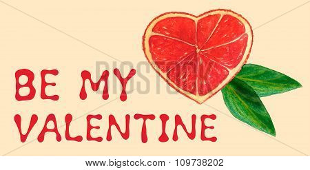 Greeting Card To Valentines Day