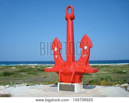 Ship Anchor Memorial To Seamen