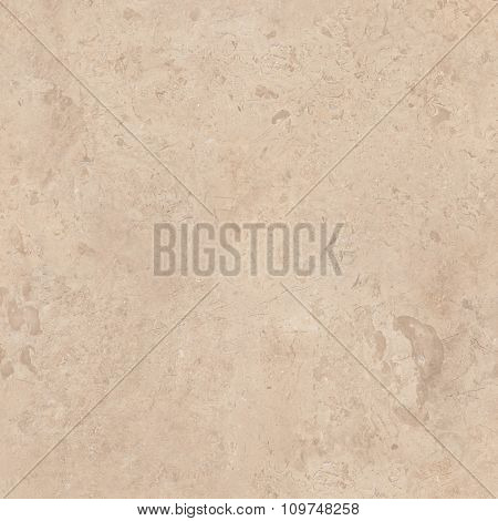 Beige marble natural stone texture background. Approximately 2 by 2 foot area.