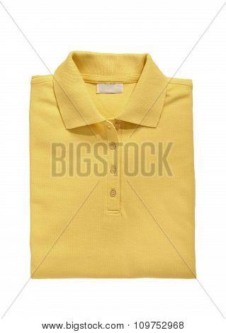 Polo Shirt Yellow