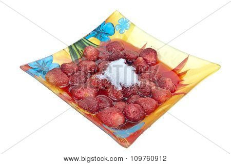 Fruit Compote From A Strawberry