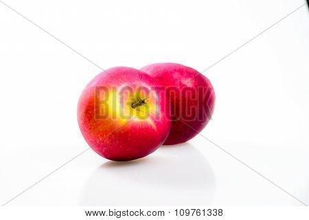 Macintosh Apple On The White Background