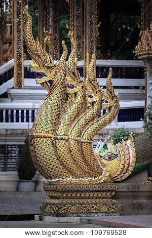 Banister Of The Great Serpent