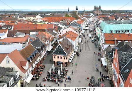 Speyer Panorama, Germany