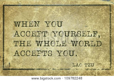 Accept Yourself Lt