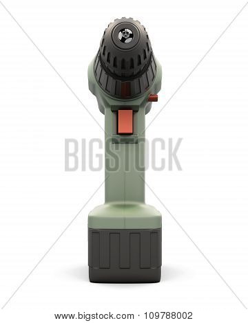 Electric Drill - Front View