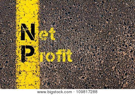 Business Acronym Np As Net Profit