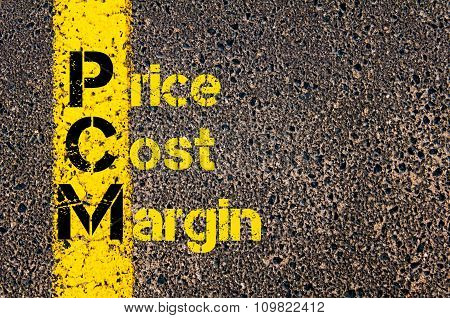 Accounting Business Acronym Pcm Price Cost Margin