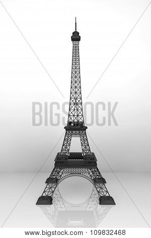 13 November 2015 Concept. 3D Eiffel Tower