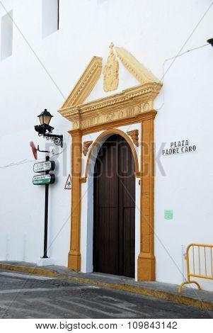 Church doorway, Vejer de la Frontera.