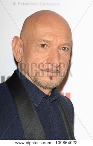 LOS ANGELES - DEC 12:  Ben Kingsley at the 27th American Cinematheque Award at the Beverly Hilton Hotel on December 12, 2013 in Beverly Hills, CA