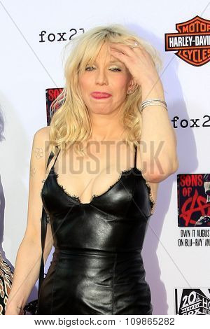 LOS ANGELES - SEP 6:  Courtney Love at the