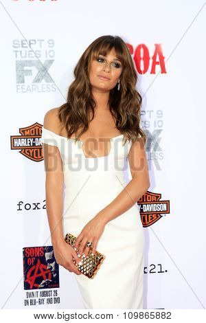 LOS ANGELES - SEP 6:  Lea Michele at the
