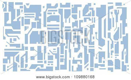 Hi-tech pattern