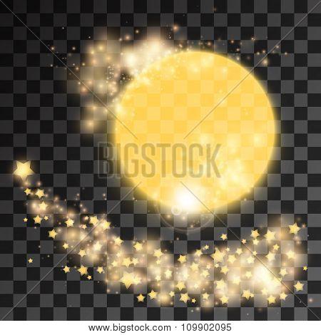 Golden star dust