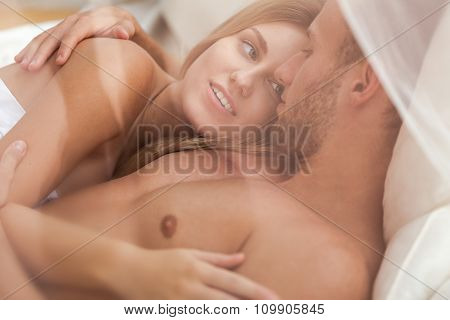Couple Totally In Love