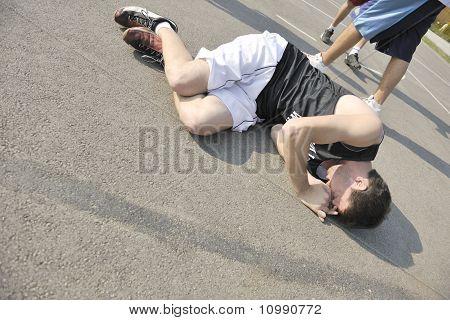 Basketball Sport Trauma Injury