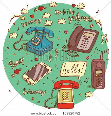 Telecommunications Objects.