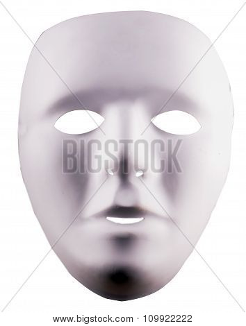 White Unespressive Mask