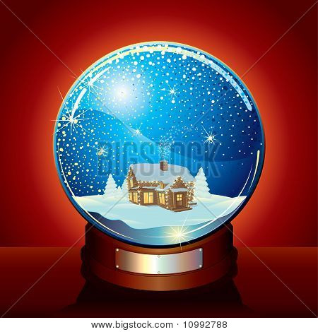 Classic Snow Globe