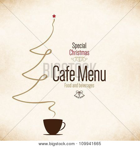 Special Christmas festive menu design