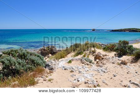 Ocean Views from the Dunes: Point Peron, Western Australia