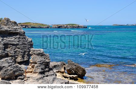 Beautiful Turquoise Cape Peron, Western Australia