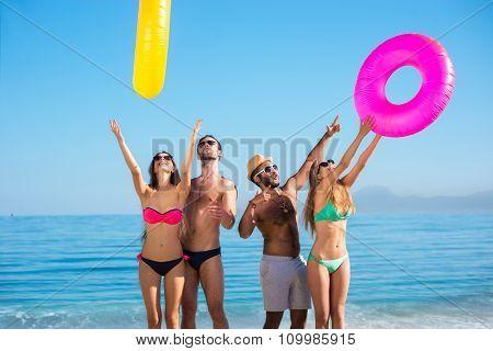Summer holidays at sea.