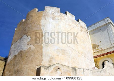 Roof of the Portuguese Cistern in the fortress of El Jadida, Morocco, Africa
