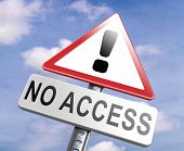 no access stop members only password required no entrance denied authorized personnel only restricted area poster