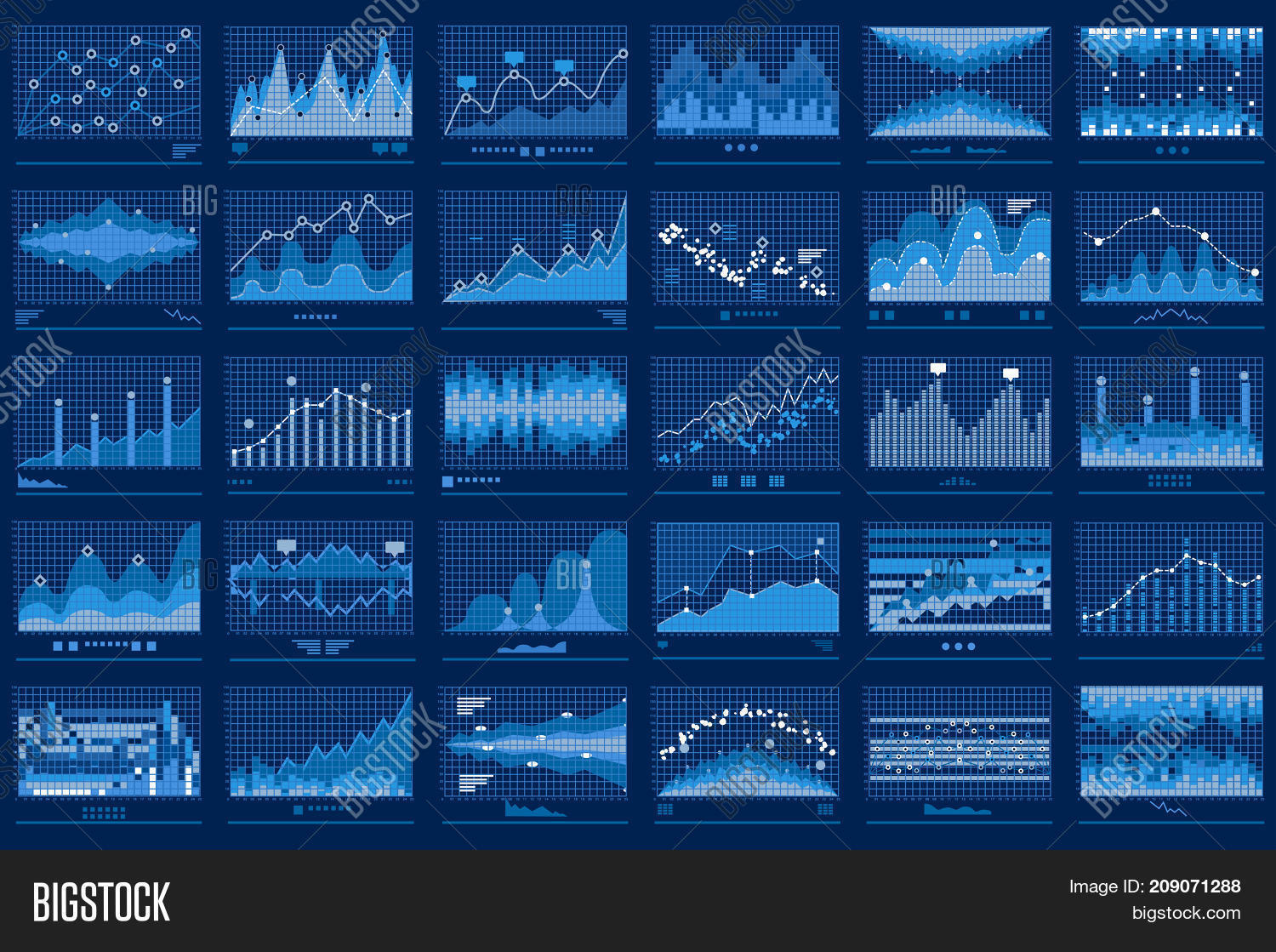 Business Data Report Vector & Photo (Free Trial) | Bigstock