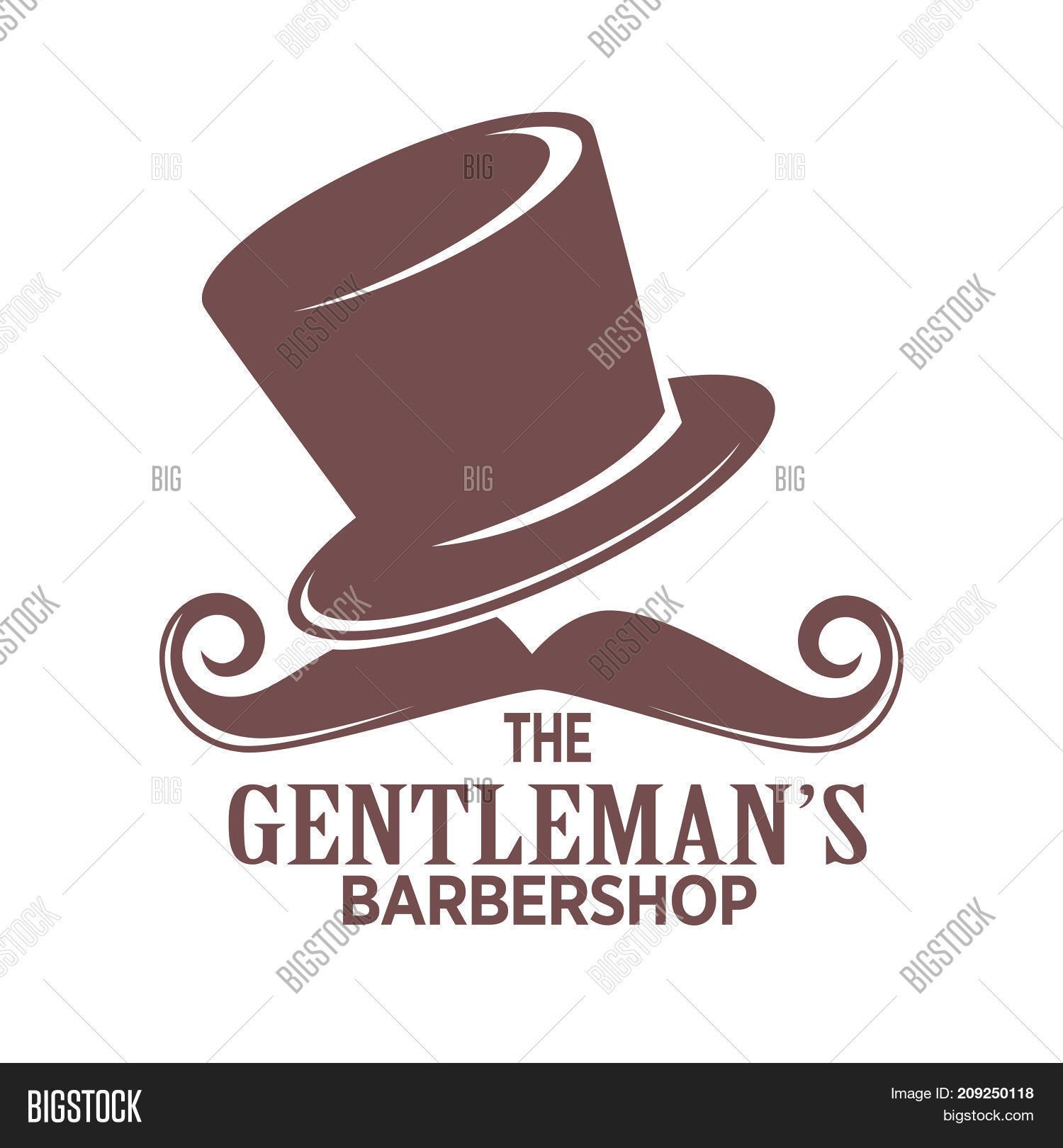 Barber Shop Logo Icon Template Image & Photo   Bigstock