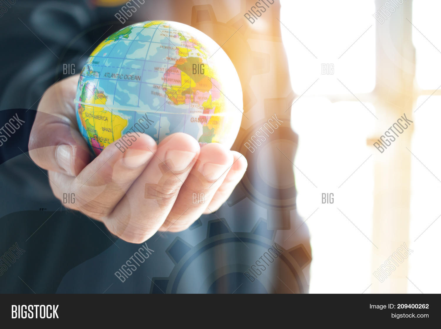 Businessman Holding Image & Photo (Free Trial) | Bigstock
