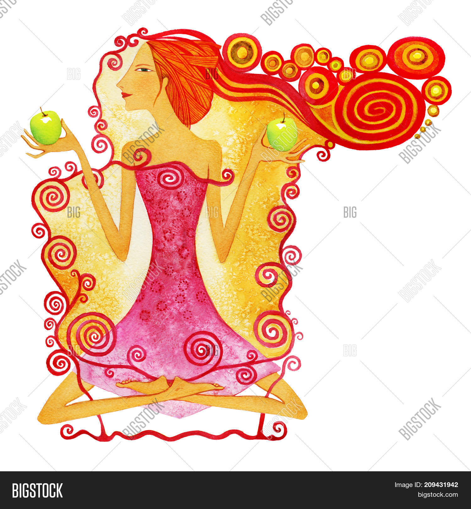 Young Barefoot Woman Image Photo Free Trial Bigstock