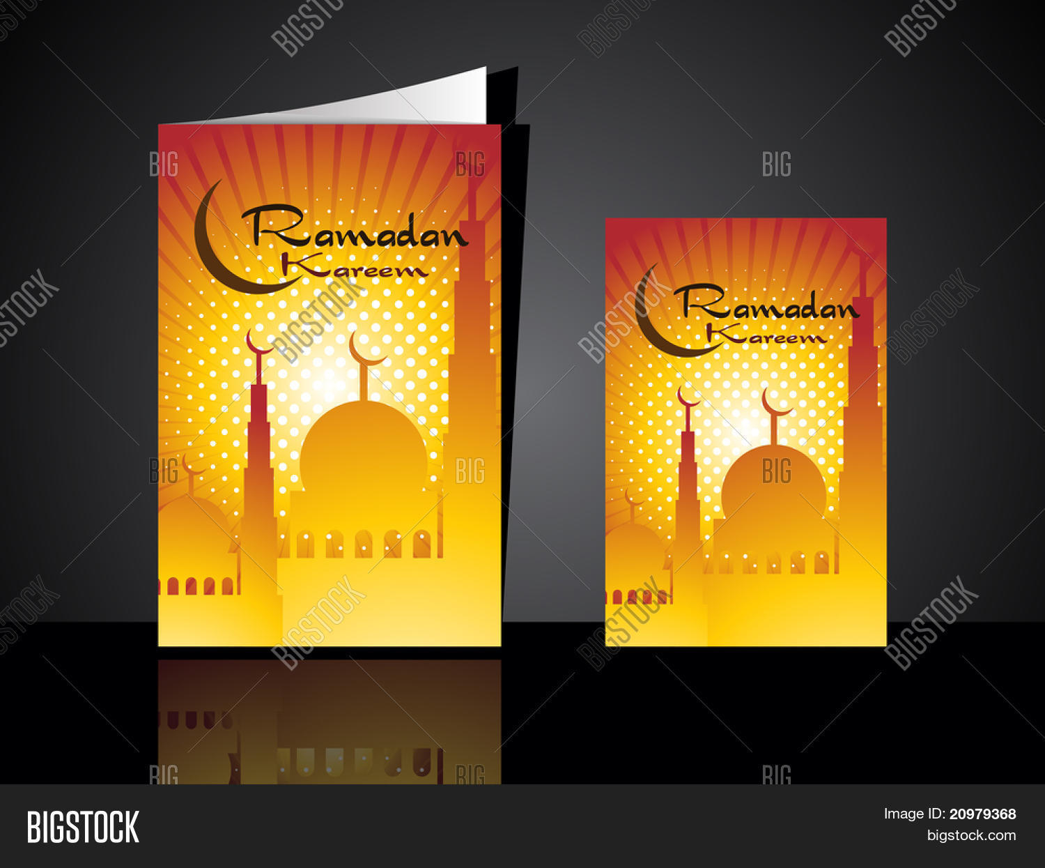 Greeting Card Ramadan Vector Photo Free Trial Bigstock