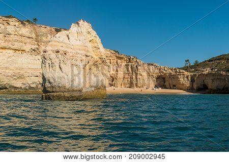 Praia Do Carvalho In Portugal