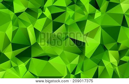 Abstract Seamless Triangular Template. Geometric Sample. Repeating Routine With Triangle Shapes. Sea