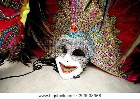 Beautiful Ornate Carnival Mask