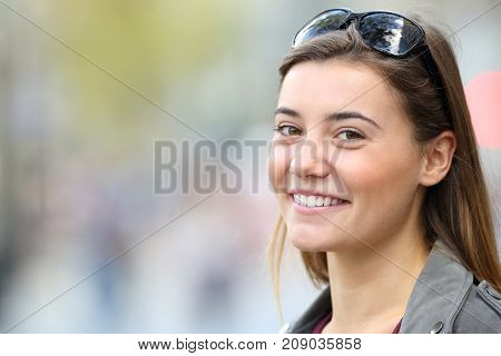 Teen With Perfect Smile Looking At You