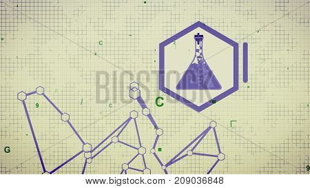 Chemical Laboratory Grid And Tools